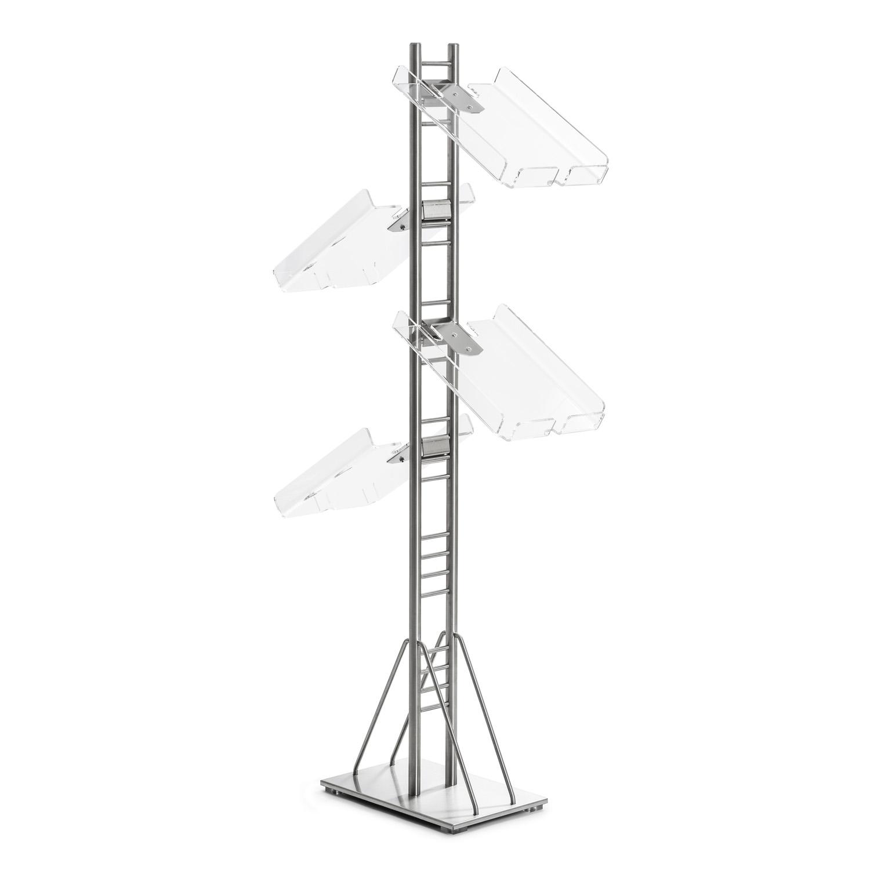 Prospektständer VarioQuick Komplettset (A4 ohne Spender)