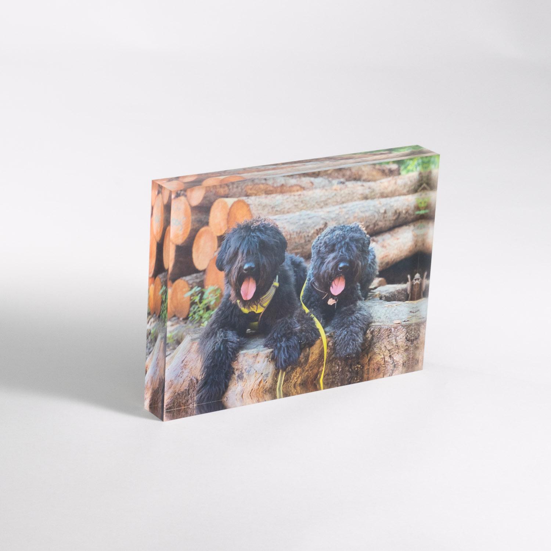 Fotos auf Acrylglas, Acrylblock (eigene Motive)
